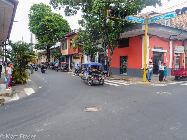 Iquitos Street Corner